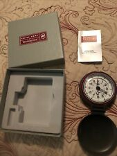 Victorinox Swiss Army Dual Time Travel Alarm Clock