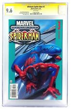 ULTIMATE SPIDER-MAN #3 CGC 9.6 NM+ SS SIGNED MARK BAGLEY 1ST SPIDER SUIT 2001