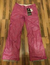 Linea donna Nuovo di Zecca speciale miscela Snowboard Pantaloni Taglia M London #B392