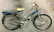 J.C. Higgins refurbished bike, tank, fenders, rack, 26 inch wheels c-l-e-a-n !