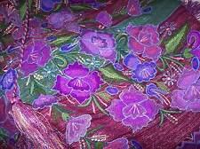 Maya Tzotzil Backloom Hand Woven embroidered shawl Zinacatan Chiapas Mex REDUCED