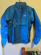 Mens New Arcteryx Nuclei SL Jacket Size Small Color Adriatic Blue