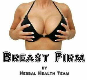 """SAFE BREAST ENLARGEMENT PILLS  - """"Breast Firm®""""  - 6 Month Supply - FREE P&P"""
