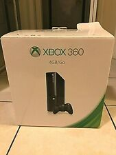 Microsoft Xbox 360 4GB Black Console + Two Wireless Controllers and Power Cord