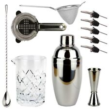 NEW Bartender's Bar Kit with Cobbler Cocktail Shaker - Bar Set Cocktails Drinks