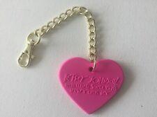 Betsey Johnson Pink Tutu Bear Keychain Iridescent Zip Pouch $30.00