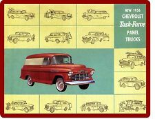 1956 Chevy Task Force Panel Truck Refrigerator / Tool Box Magnet