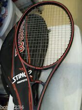 Wilson Sting 2 Midsize Graphite Tennis Racquet Racket w Matching Case 421 41/4 L
