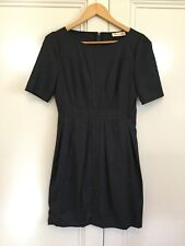 Alannah Hill Size 8 Under Cover Agent Frock Wool Blend Dress 100% Silk Lining