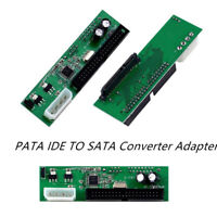 PATA IDE zu SATA Konverter Adapter Plug & Play 7 + 15 Pin 3.5 / 2.5 SATA HDD DVD