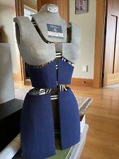 Vintage 1950's Fairloom Dress Form Sears and Roebuck Adjustable Original Fabric