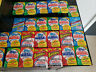 HUGE LOT OF 100-PLUS TOPPS VINTAGE BASEBALL CARDS IN 7 SEALED WAX PACKS!!!