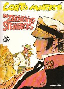 Corto Maltese im Zeichen des Steinbocks Softcover Comic von Hugo Pratt in Top