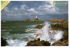 Corbiere, Jersey, Channel Islands, Seaview Rare Postcard Postmark 19.09.01
