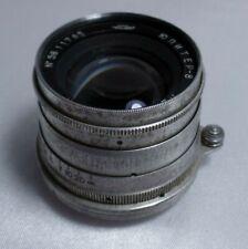 JUPITER 8 Russian Lens F 2/50 mm for M39 L39 mount FED Zorki Leica Camera  1619