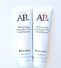 Nu skin Nuskin AP 24® WhiteningFluoride-Free Toothpaste Exp 05/2021 Two tubes