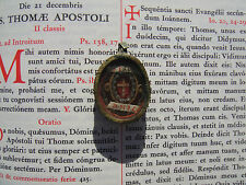 Vatican reliquary 1500s relic True Cross Jesus Christ COA