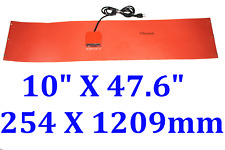 "10"" X 47.6"" 254 X 1209mm 1600W w/ Control JSRGO Tank Drum Barrel Band Heater"
