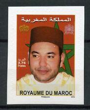 Morocco 2018 MNH King Muhammad VI 1v S/A Set Royalty Stamps