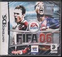 Fifa 2006 Jeu Vidéo Nintendo DS Nds Scellé 5030947046767