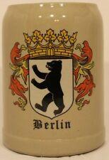 Vintage Gerz Berlin Bear 0.5L Beer Mug, Collectible