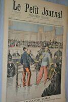 Le petit journal supplément illustré / 27-2-1898 / L'affaire Zola Grave incident