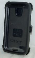 Genuine OtterBox Defender Series BLACK Case Samsung Galaxy S4 Smart Phone USED