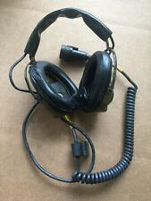 SONETRONICS H-227/U VINTAGE HEADSET 1963 MILITARY RADIO NSN: 5965-00-226-2915