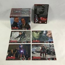 MARVEL THE AVENGERS: AGE OF ULTRON Upper Deck 2105 Complete Card Set (#1-#90)