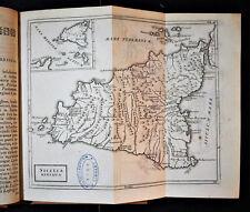 """1786 Original Geographical Map """" SICILIA Antiqua """" - Christophori  CELLARIUS."""