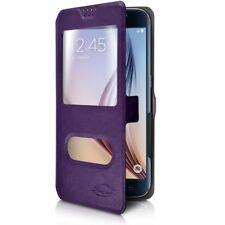 Etui de Protection double S-View Universel M Violet pour Xiaomi Mi A2 Lite
