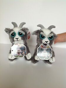 Feisty Pets Soft Plush Stuffed Scary Face Toy Animal Funny Toys Gift Kids b36