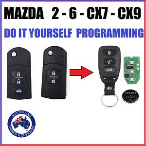 MAZDA 2 6 CX7 CX9 CX 7 CX 9 REMOTE KEY LESS ENTRY FOB  2007 - 2015