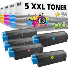 5 XXL tóner para oki data c3100 c3200 n c5100 n c5200 n c5300 DN c5300 n Spar set