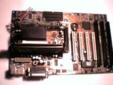 Pentium Motherboard P3 Slot1 ASUS P2-99  Rev 1.12  ** THREE **  ISA slots !! AGP