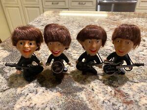 original 1964 vintage seltaeb the beatles figures set