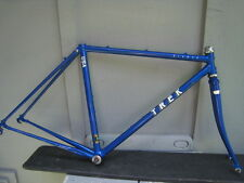 NICE BLUE 80s TREK ELANCE 400 ROAD BIKE FRAME LUGGED REYNOLDS 531 VERY NICE 49cm