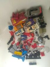 Vtg 1980s TRANSFORMERS G1 Takara A team Go Bot Toy LOT! PARTS, Action Figures