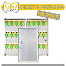CASSETTA PORTACHIAVI 48 GANCI condomini arredo bricolage casa chiavi oggetti box