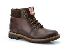 Base London Fawn brown leather mens hiking boot
