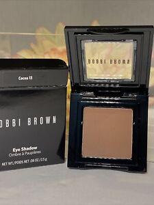 Bobbi Brown Eye Shadow COCOA 13 Authentic BNIB Full Size Fast/Free Shipping