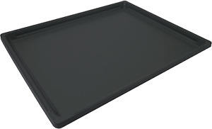 Replacement Tray For Dog Cage Crate Black Bottom Tray Large Replacement Plastic
