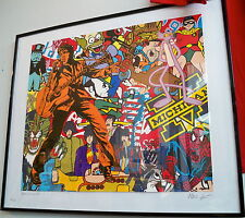 AMERICANISM No 2 * Elvis Presley pop art style original limited serigraphy print