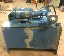10hp Hydraulic Power Unit Withvickers Pvq45 Pump On An 80 Gal Reservior