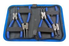 """US PRO Tools 4pc 6"""" Circlip Pliers, Plier Set In Zip Pouch NEW 2059"""