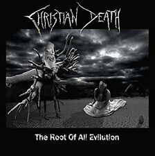 CHRISTIAN DEATH - THE ROOT OF ALL EVILUTION - NEW CD ALBUM