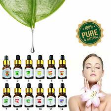 New 10ml Drop Design Essential Oil Pure & Natural Aromatherapy For Diffuser xz