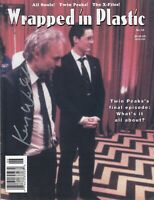 Kenneth Welsh Signed Wrapped in Plastic #53 Autograph Signature Twin Peaks RARE!
