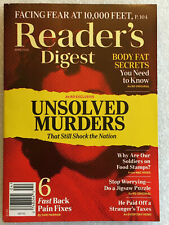 Reader's Digest Magazine April 2020 Issue Rd Unsolved Murders E432