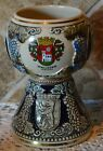 """GERMAN BEER STEIN CHALICE~GOBLET~WEST GERMANY~OLD AND GORGEOUS~JUST UNDER 6"""""""